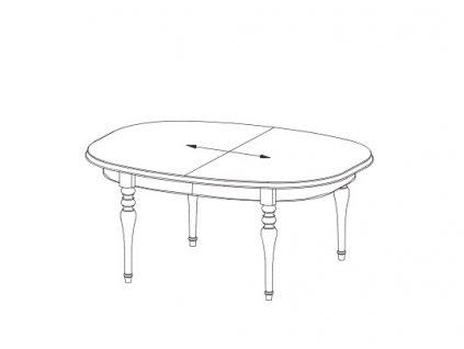 Jídelní stůl FLORENCIE FL-S2