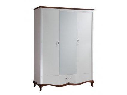 Šatní skříň se zrcadlem MILANO MI-3DL