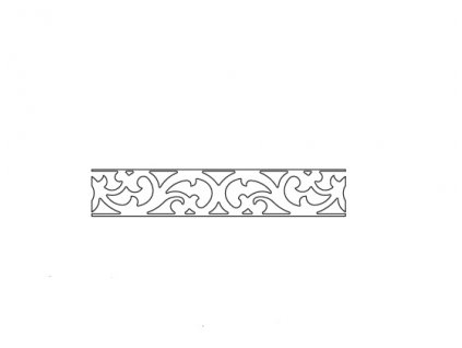 Vložný ornament do MILANO MI-KB/D