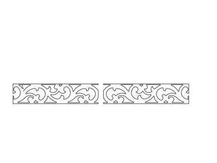 Vložný ornament do MILANO MI-W2, MI-KB