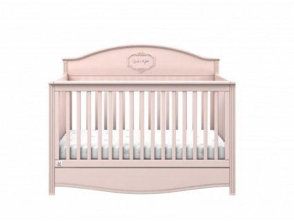 Dětská postýlka GOOD NIGHT Flamingo 70x140cm / sofa