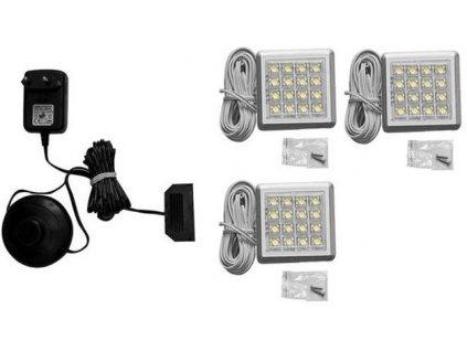 3 - bodová LED světla