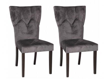 Židle CARMESINO - komplet 2 kusy