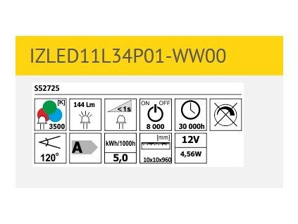 LED pásek IZLED11L34P01
