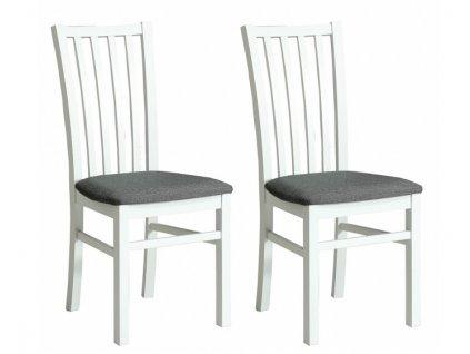 Jídelní židle SNOW KR0114 - komplet 2 kusy