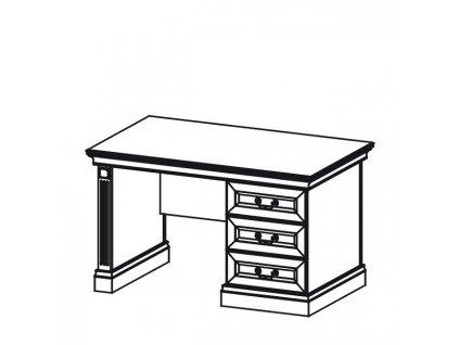 Psací stůl BARCELONA malý