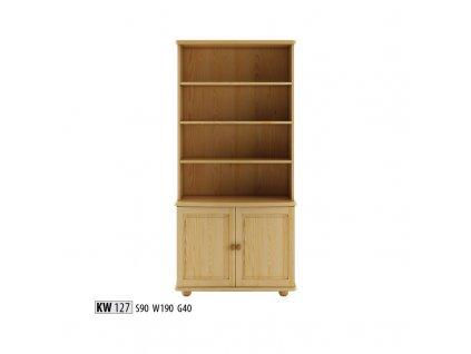 Vitrína- kredenc KW 127