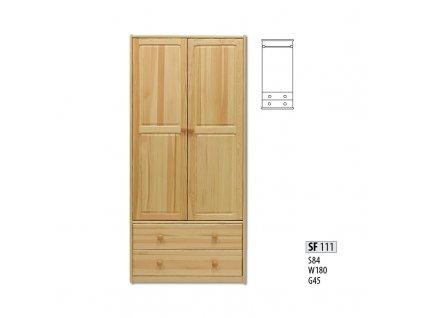 Skříň dřevěná masivní SF 111