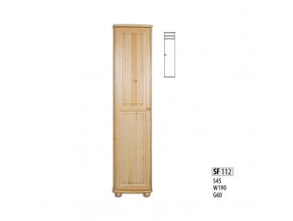 Skříň dřevěná masivní SF 112