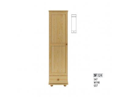 Skříň dřevěná masivní SF 124