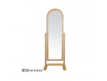Zrcadlo LT 102 borovice masiv