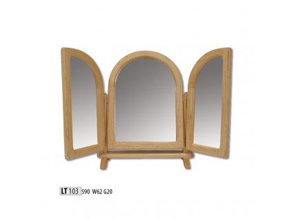 Zrcadlo LT 103 borovice masiv