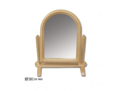 Zrcadlo LT 104 borovice masiv