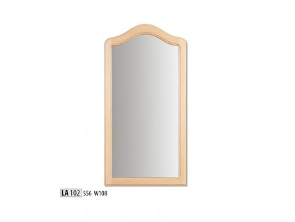 Zrcadlo LA 102  borovice masiv