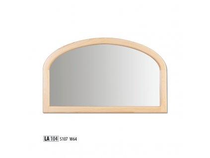 Zrcadlo LA 104  borovice masiv