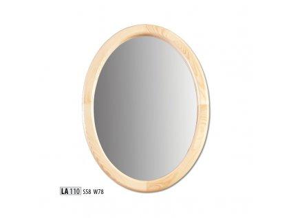 Zrcadlo LA 110  borovice masiv