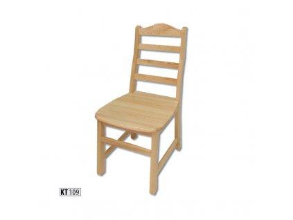 Jídelní židle KT 109 borovice masiv