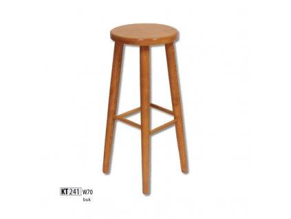 Barová židle KT 241 buk masiv