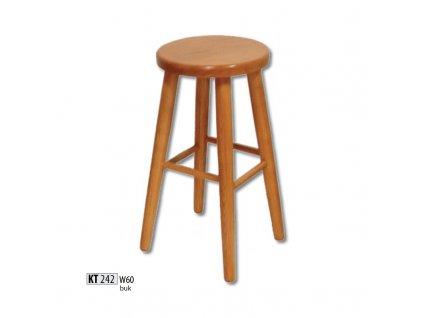 Barová židle KT 242 buk masiv