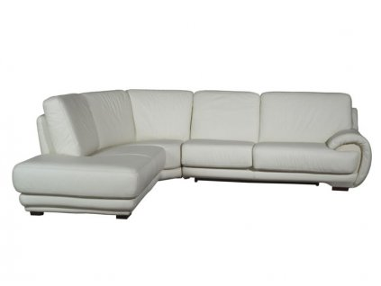 Rohová kožená sedací souprava ELDORADO