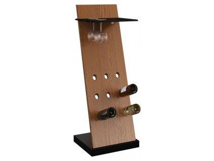42 Stojak na wino i kieliszki