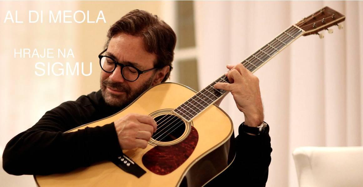 Al di Meloa hraje na Sigmu