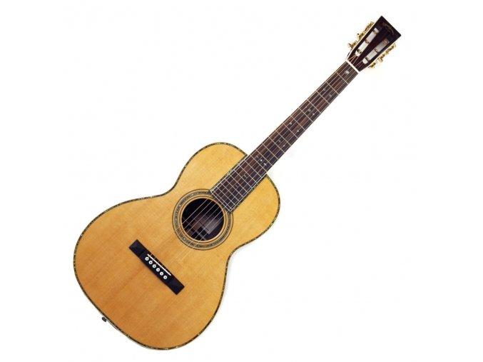 SIGMA 00R-45VS, akustická kytara VÝBĚR, polomasiv, sitka, hmatník 44,5 mm