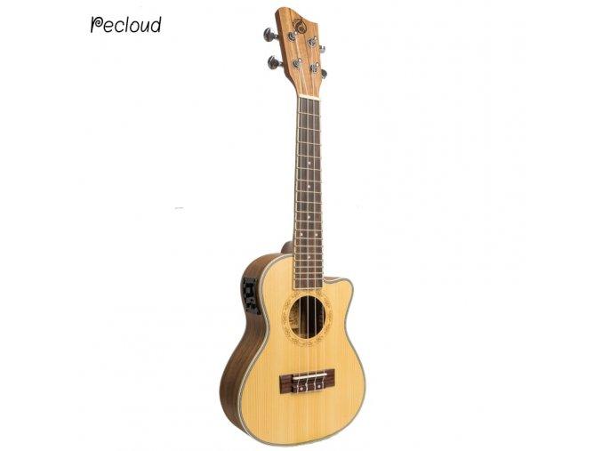 HNB GRAPE GUC-450C(E) 23 ukulele koncert ořech cutaway s elektronikou