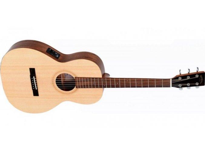 SIGMA OOMSE, elektro-akustická kytara VÝBĚR!!!, polomasivmasiv, sitka