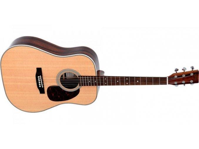 SIGMA DMR-28H, akustická kytara dreadnought VÝBĚR, polomasiv, sitka,Grover