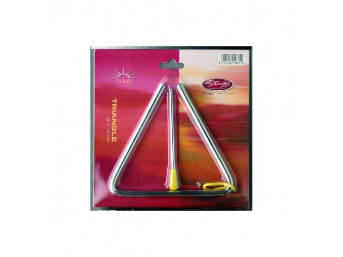 "STAGG TRI-6 triangl 6"""