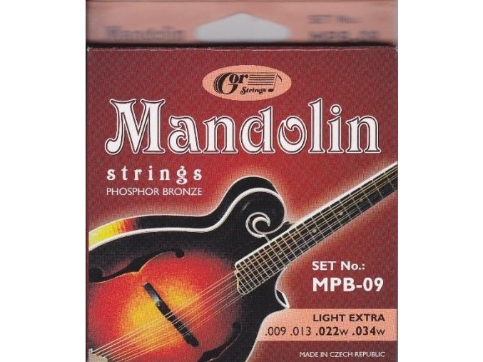 GORSTRINGS MPB .009 struny mandolina