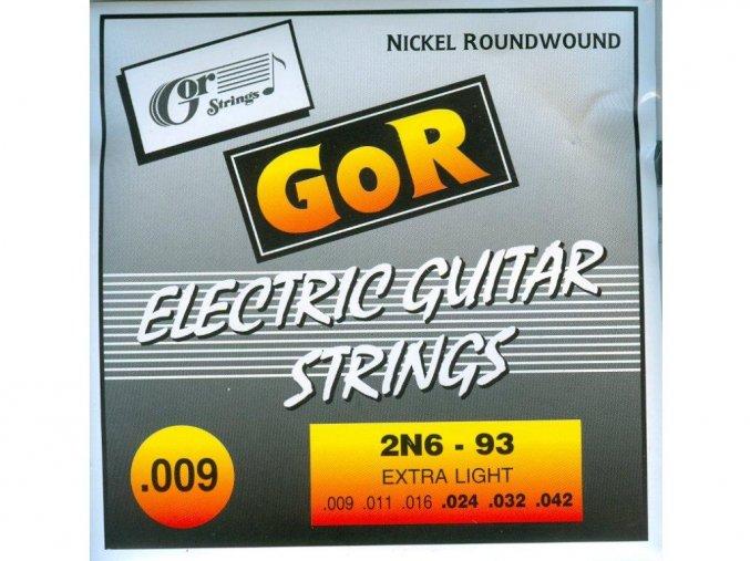GORSTRINGS 2N6-93 struny el. kytara 9/42
