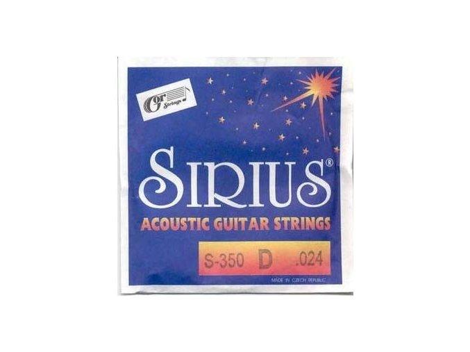 GORSTRINGS SIRIUS S-350 .024 struna kytara D