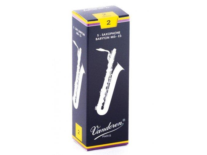 VANDOREN SR242 plátek Baryton saxofon č.2