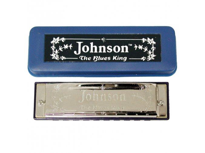 JOHNSON 520G blues harmonika G - 10 otvorů, 20 hlásků