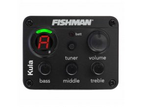 FISHMAN OEM-KUL-101 Kula - piezo snímač+ preamp pro ukulele