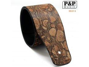 P&P S513A řemen kytarový PU kůže