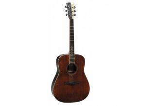 GILMOUR ANTIQUE W48 - westernová kytara, polomasiv, nultý pražec 48mm