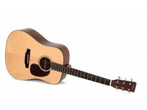 SIGMA SDM-18E, elektroakustická kytara VÝBĚR, celomasiv, sitka, mahagon, včetně gig bagu