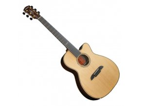 ALVAREZ Masterwork Elite OM70CE - elektro-akustická kytara, celomasiv sitka + indický palisandr, vč. kufru