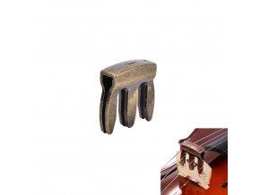 EBE mosazné dusítko na housle/violu 3 hřeben vysoká kvalita