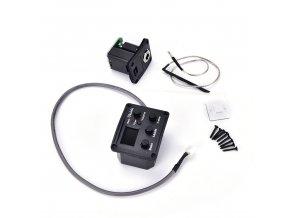 EBE snímač s elektronikou na ukulele - Equalizer, ladička