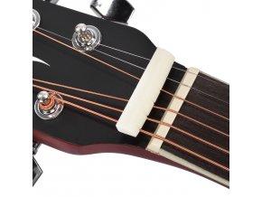 HNB nultý pražec pro western kytaru 43x6x9mm buvolí kost