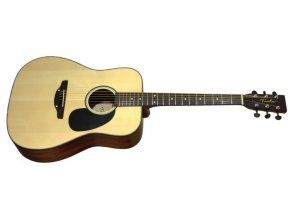 TREMBITA D7-N westernová kytara, dreadnought, polomasiv, smrk/mahagon, barva přírodní - NAT (D-7N) - VÝBĚR!!!