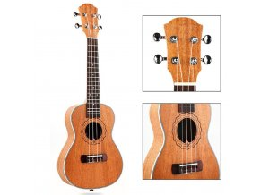HNB YAEL23 koncertní ukulele, mahagon