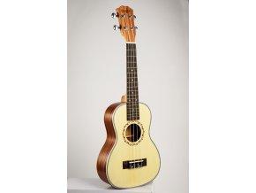 EBE 21 MUSIC sopránové ukulele smrk/mahagon