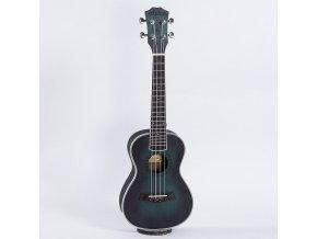 HNB DIDUO 23 koncert ukulele zelený sunburst