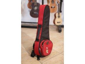 HOCZ Turtle soprán RB obal na ukulele červeno/černý