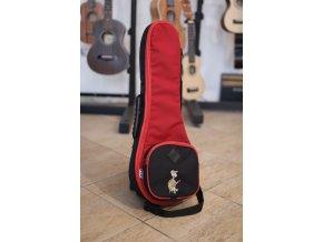 HOCZ Turtle soprán BR obal na ukulele černo/červený